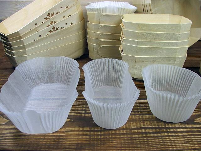 paper cups, paper baking inserts, paper baking moulds